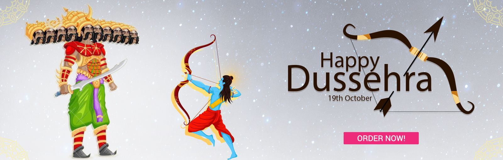 Send Dussehra gifts to India