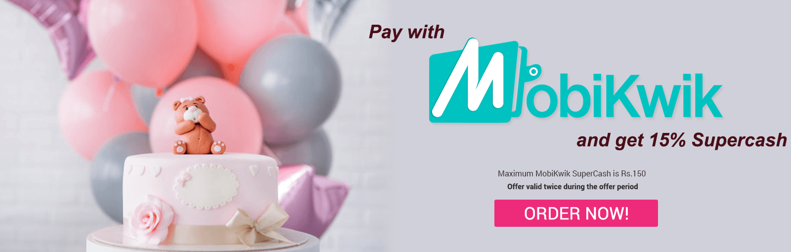 mobikwik Offer to send online gifts in India