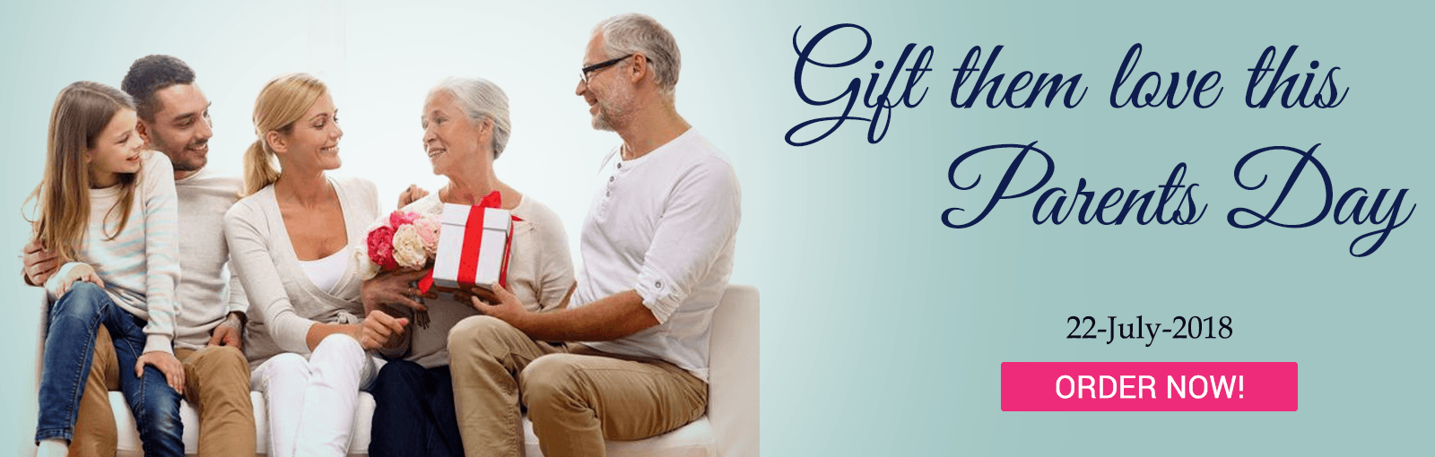 Send parents day gifts to India